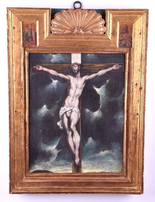 "El Greco (1541 - 1614) Oil on Canvas ""Christ"""