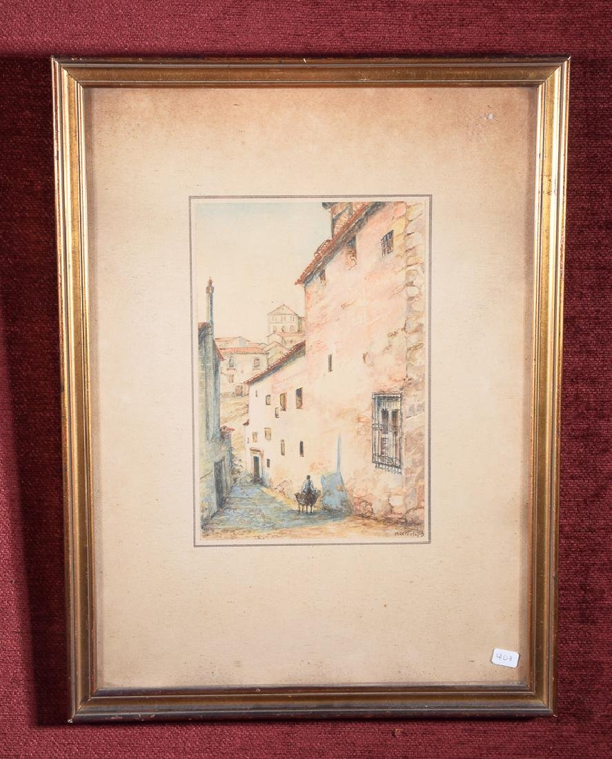 Marchese - Watercolor street