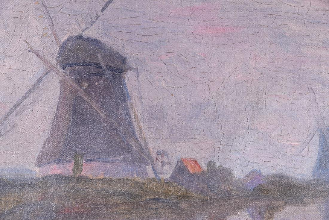 J. H. TWACHTMAN (1853 - 1902) vintage oil on canvas - 4