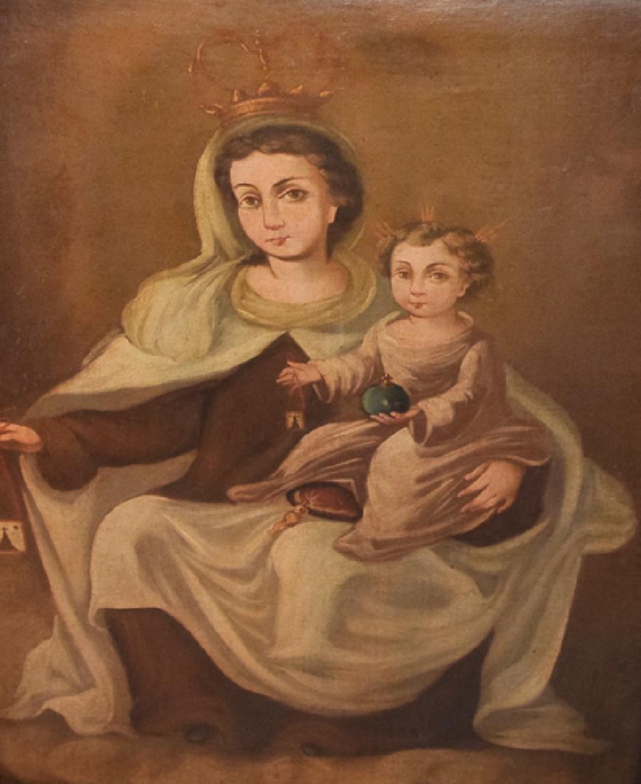 Unknown Virgen del Carmen S. XIX