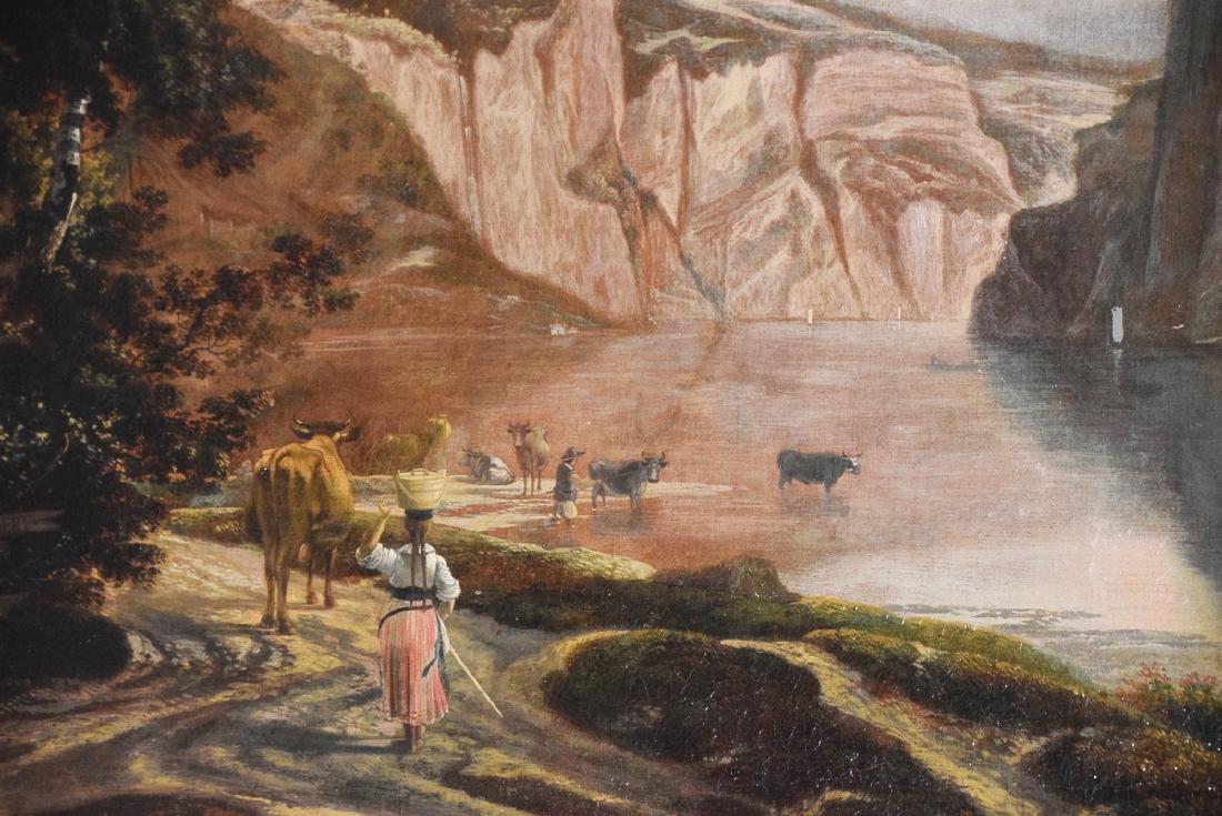 Ian Hackaert oil on canvas landscape XVII