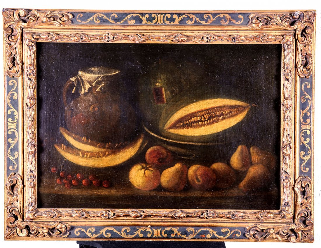 Luis MELENDEZ (1716-1780) Oil on Canvas