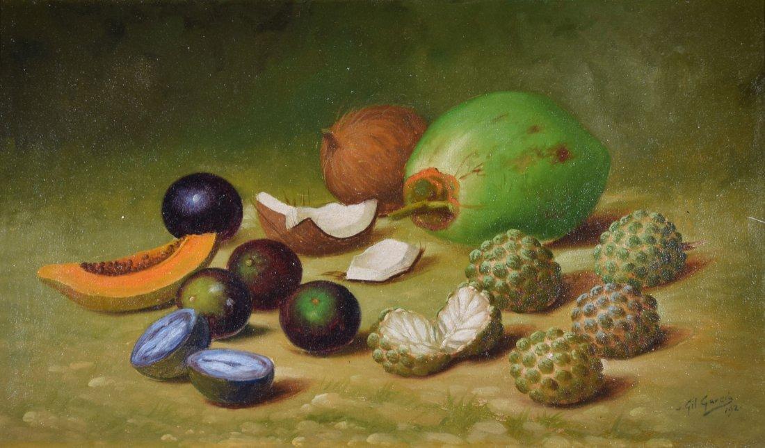 Gil GARCIA Oil on Canvas Still Life