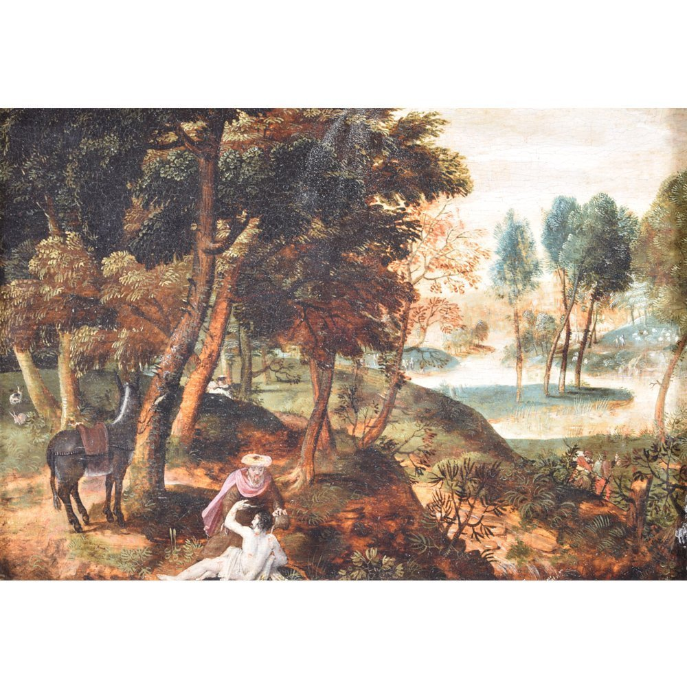 Paul BRIL (1554-1626) Oil on Panel