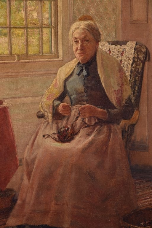 George Newall BOWERS (1849-1909) - Untitled (Old Woman) - 2