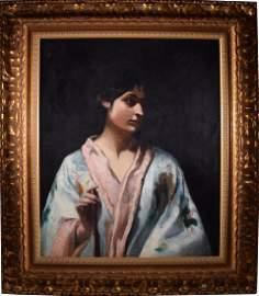John Singer SARGENT (1856-1925) - Untitled (Portrait of
