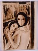 Victor MANUEL (1897 - 1969) - (Two women)