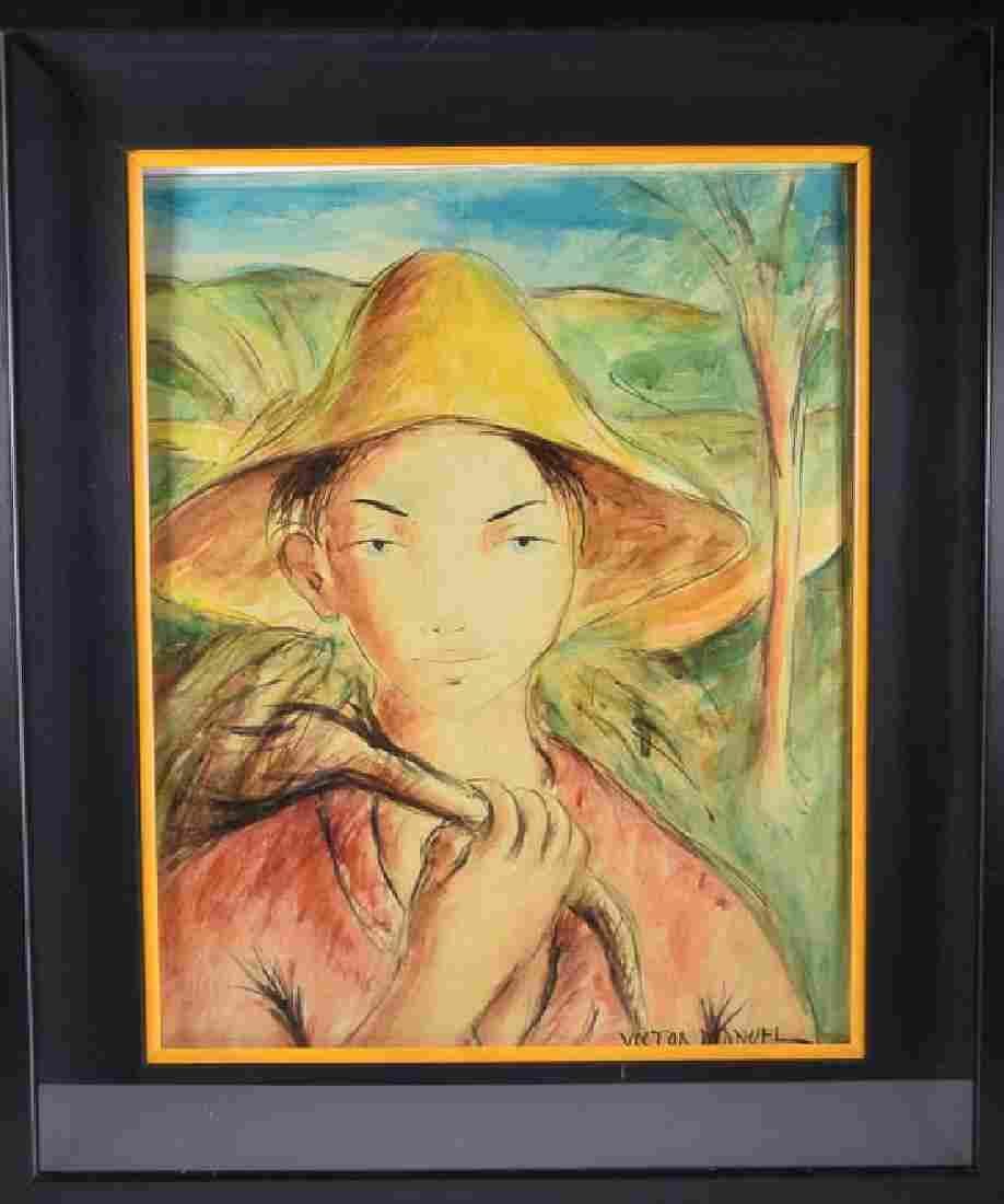 Victor MANUEL (1897 - 1969) - (Farmer - Man)