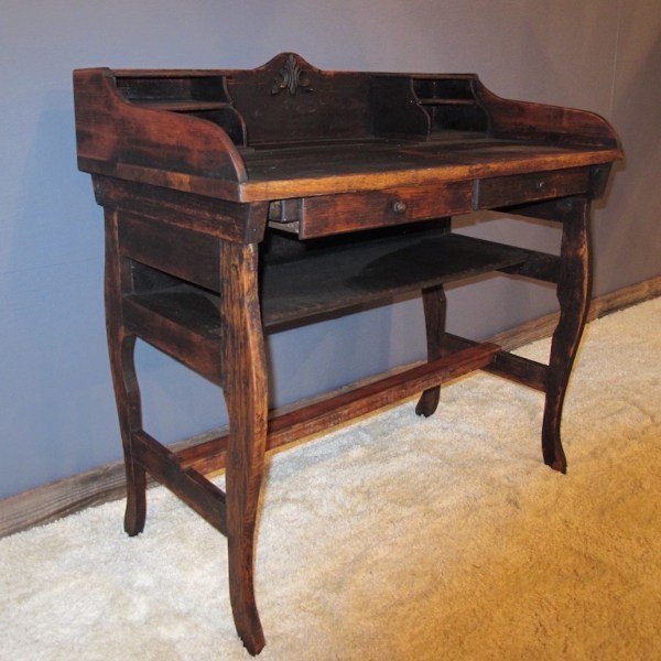 5. Elegant Two Drawer Writing  Desk