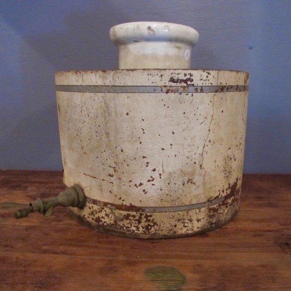 11. 19th Century Water Cooler Bucket
