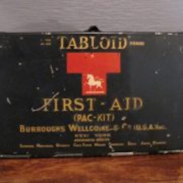 50. 20s-30s Tabloid First-Aid (Pac-Kit) - 7