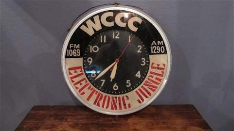 "73. WCCC ""Electronic Jungle"" Clock"