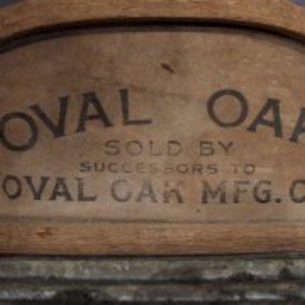 91. Oval Oaks No. 97 Tin Washboard - 2