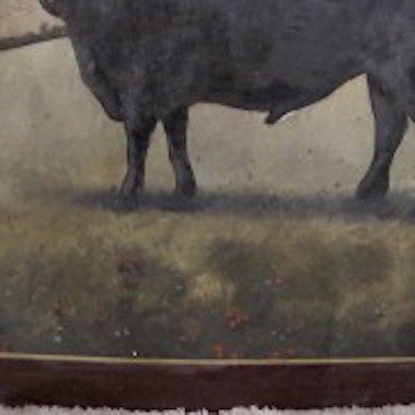 """167.  Vintage Pub Sign - """"Black Bull"""" - 3"""