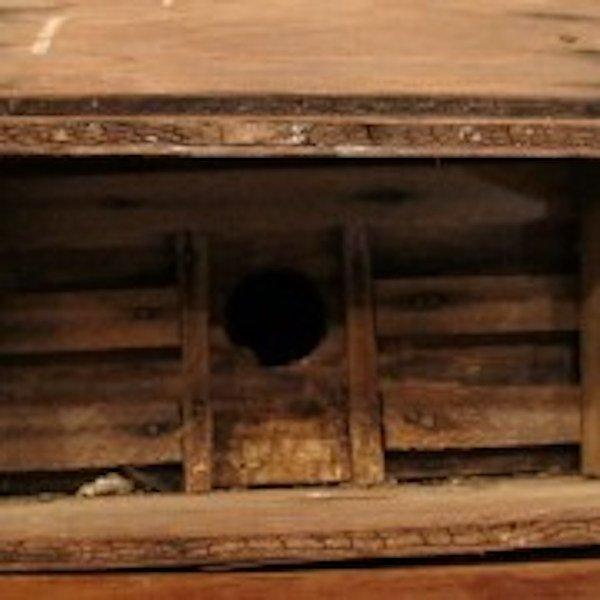 195. Primitive Folk Art Bird House - 3