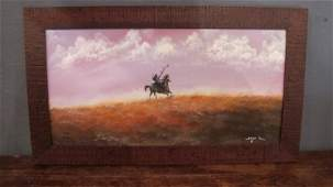 "199. ""On the Buffalo Trail"" by Bilson Kee"