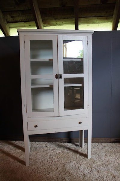 240. Cottage Painted Jelly Cabinet