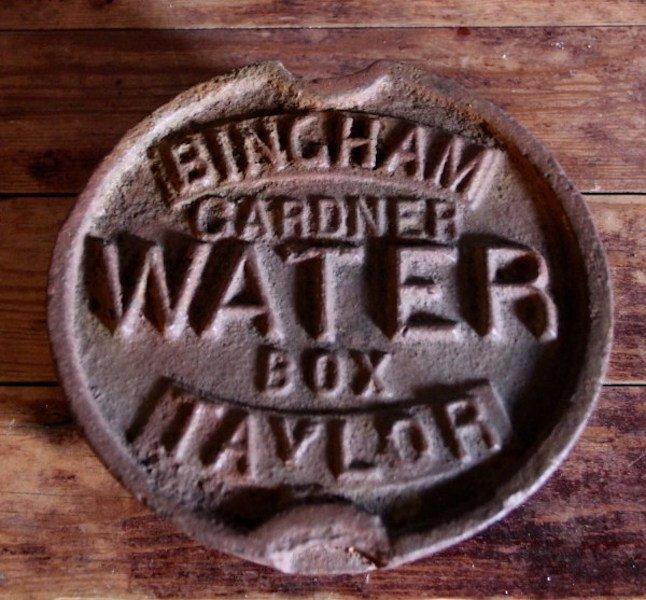 303. Bingham - Gardner Water Box Cover