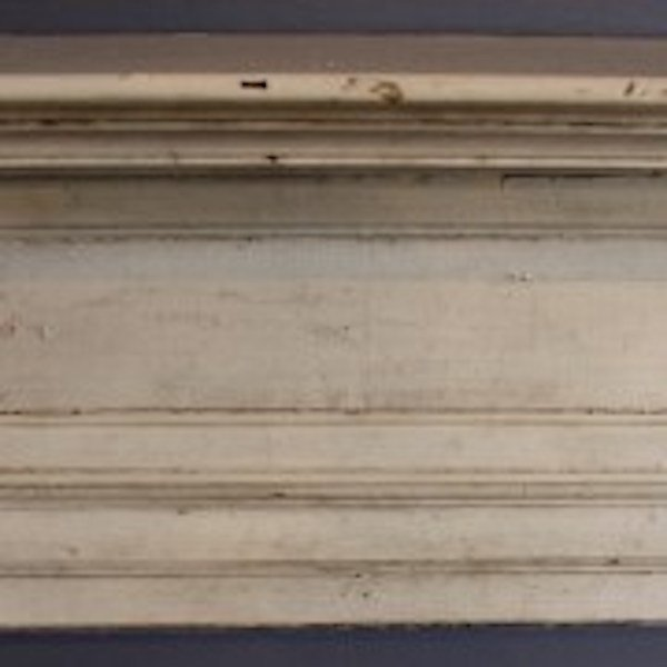 332. White Yellow Pine Mantle - 3
