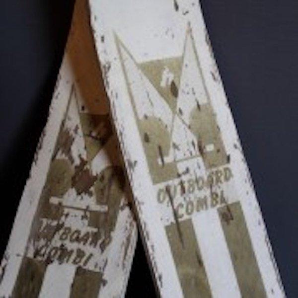 "337. Old""Outboard Combi"" Waterskies - 3"