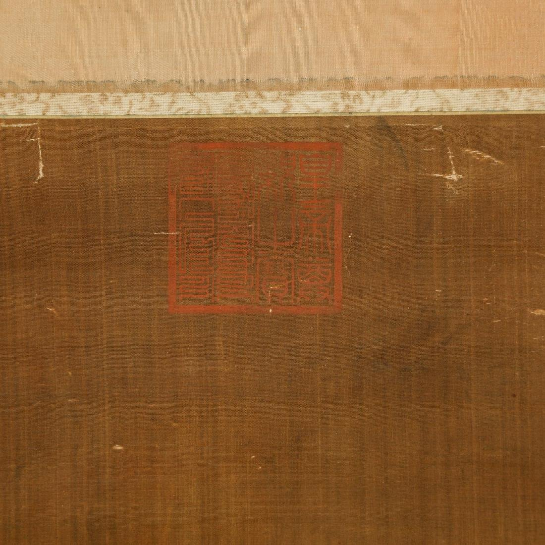 CHINESE SCROLL PAINTING OF LOHAN - 7