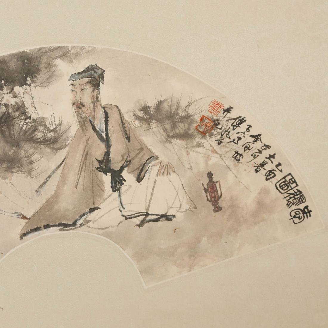 CHINESE FAN PAINTING - 2