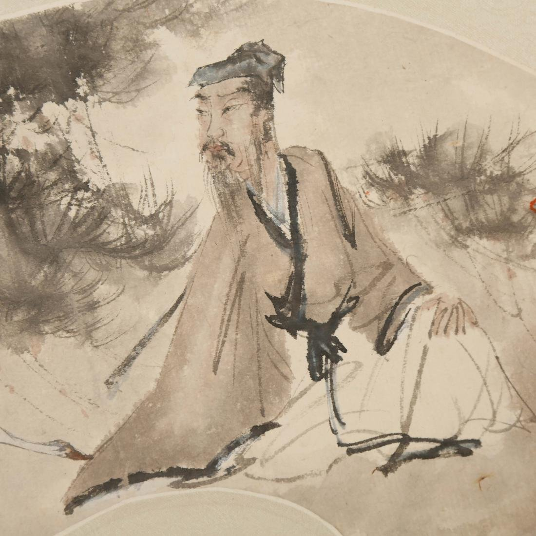 CHINESE FAN PAINTING - 3