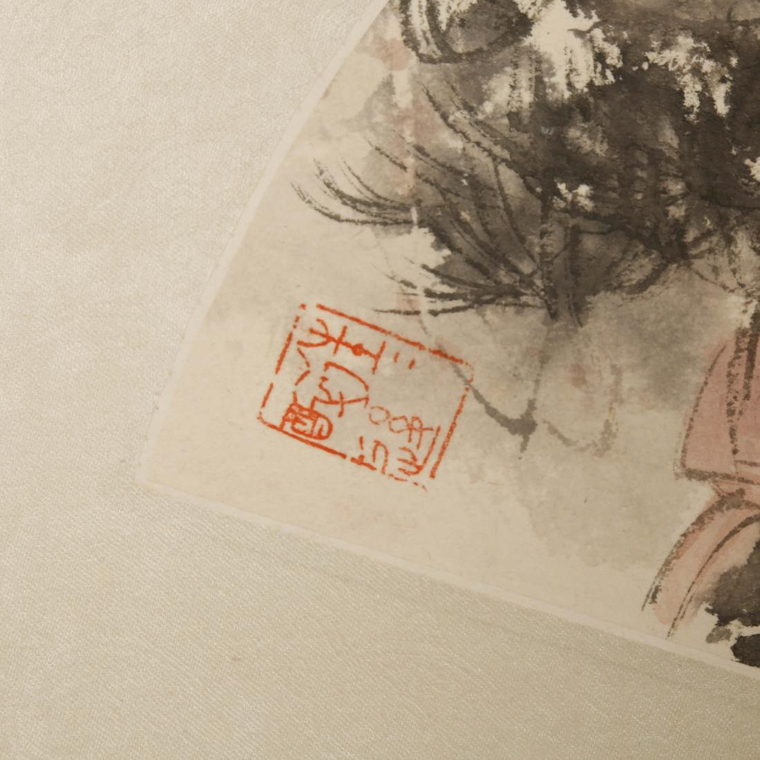 CHINESE FAN PAINTING - 6