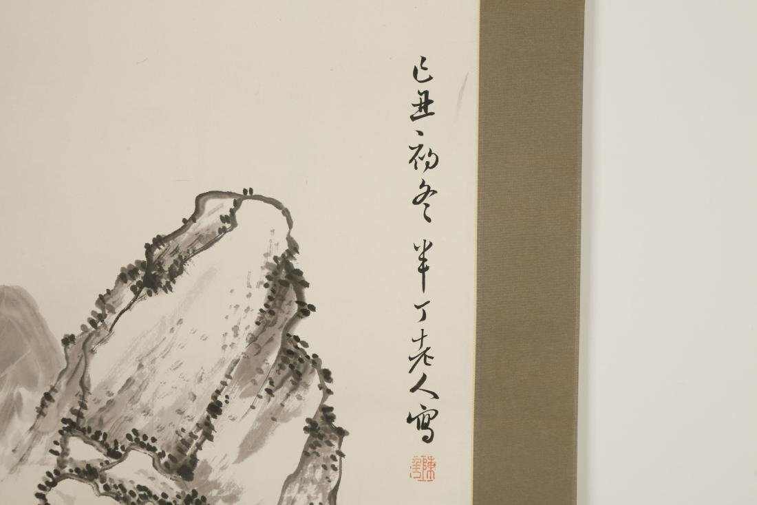 CHINESE SCROLL PAINTING OF LANDSCAPE - 6