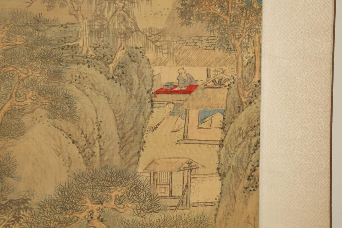 CHINESE SCROLL PAINTING OF LANDSCAPE - 5