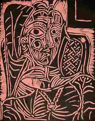 Portrait de Jacqueline au Fauteuil
