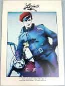 "Vintage c1980s ""Legends"" Nightclub Ad w/ Marlon Brando"