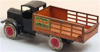 """Large Antique 1927 """"Oh-Boy!"""" Toy Delivery Truck"""