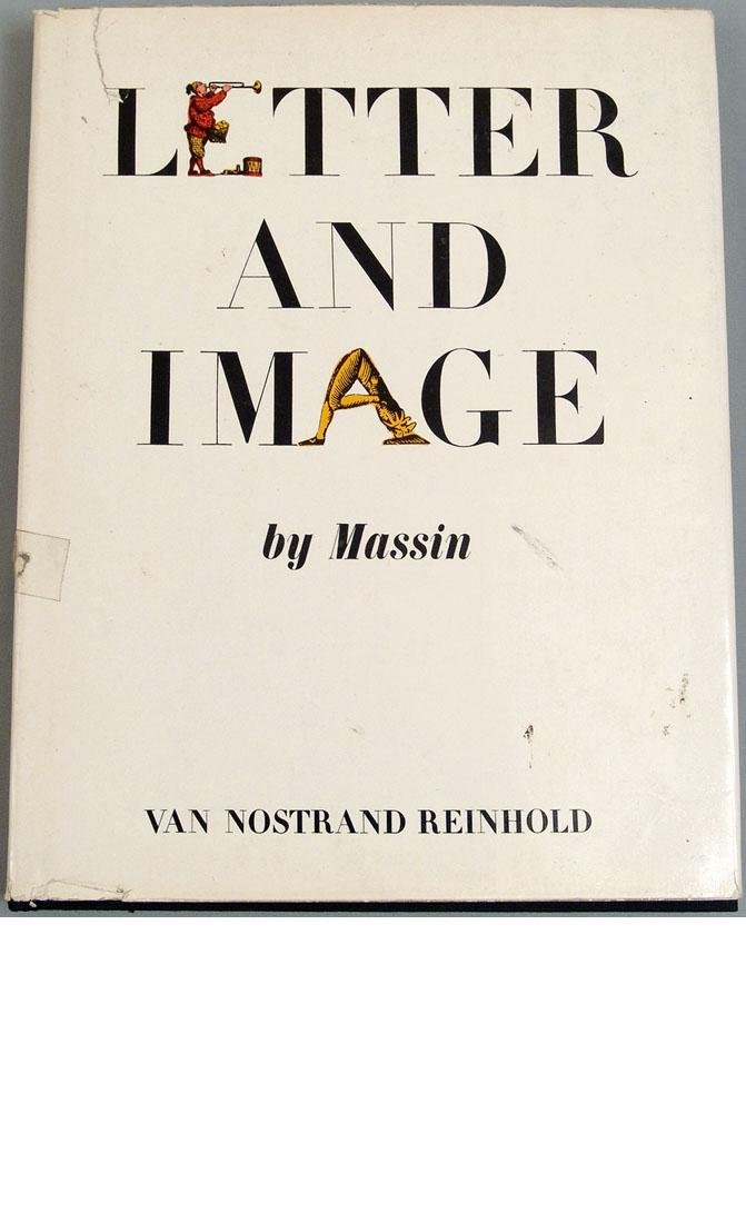 """Vintage 1970 Book """"Letter and Image"""""""