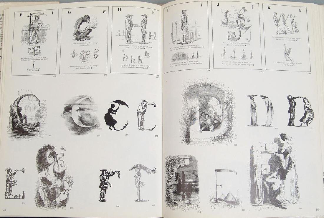 """Vintage 1970 Book """"Letter and Image"""" - 3"""