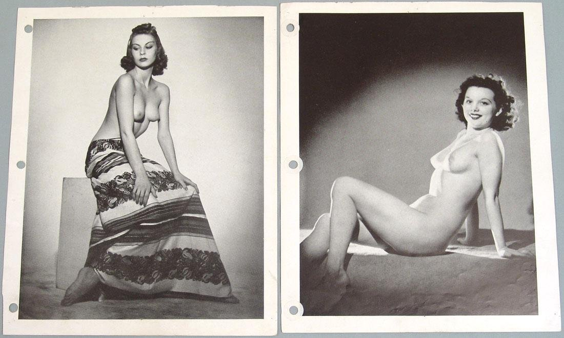 "Lot of Antique c1940 Nude ""Art Studies"" Photos"