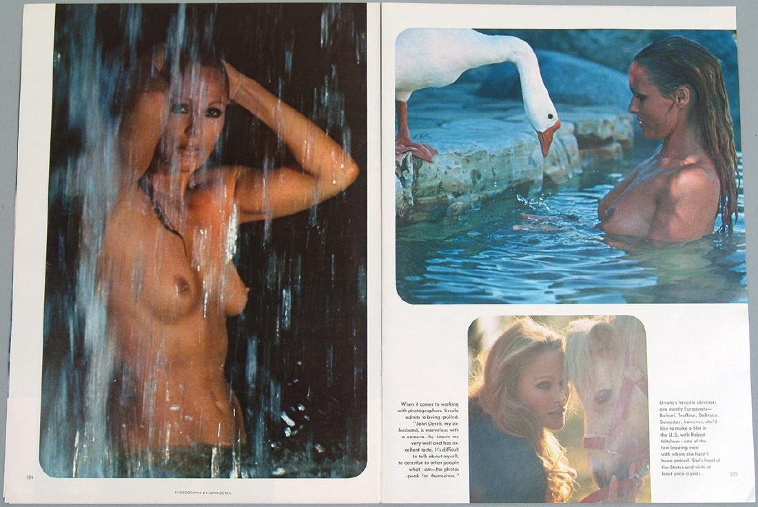 Vintage Nude Pictorial Featuring Ursula Andress - 2