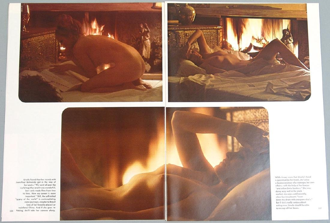 Vintage Nude Pictorial Featuring Ursula Andress - 3
