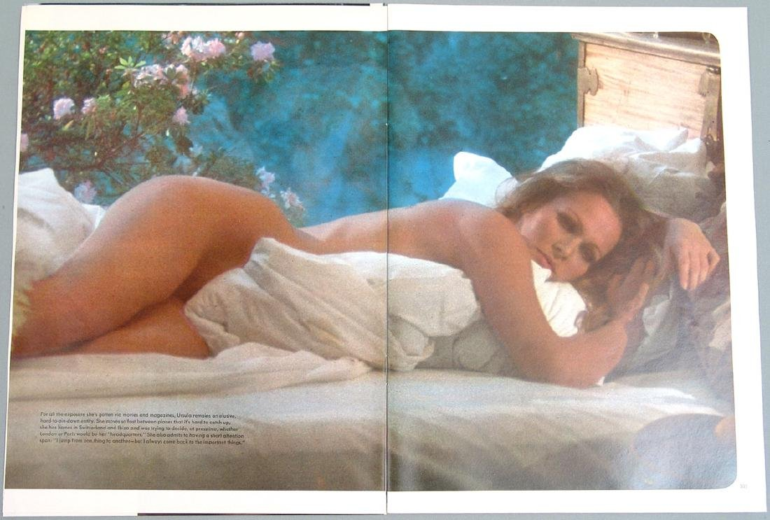 Vintage Nude Pictorial Featuring Ursula Andress - 4