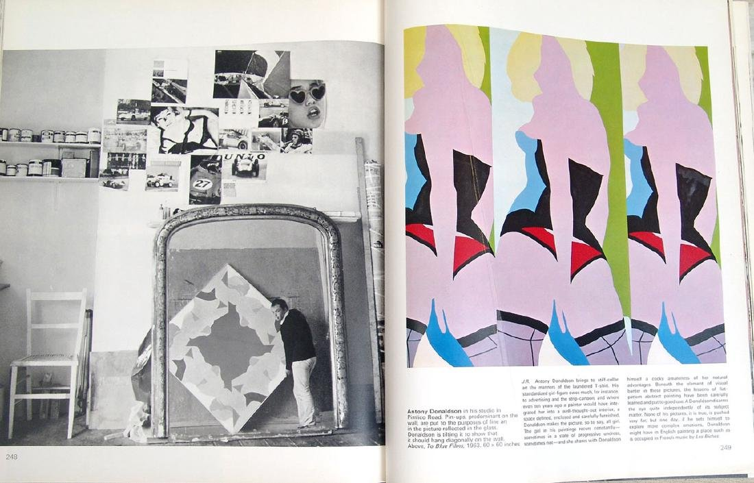 """1965 Book """"Private View: Lively World of British Art"""" - 2"""
