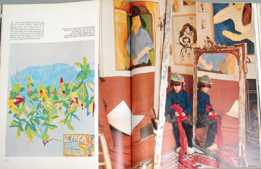 """1965 Book """"Private View: Lively World of British Art"""" - 3"""