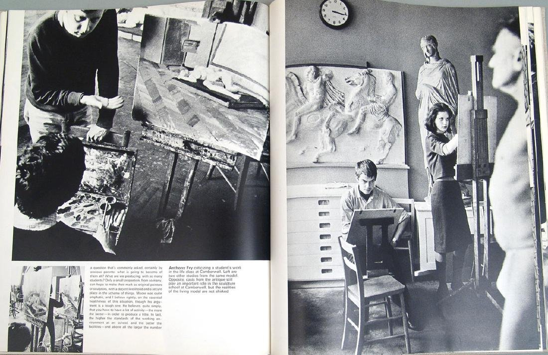 """1965 Book """"Private View: Lively World of British Art"""" - 4"""
