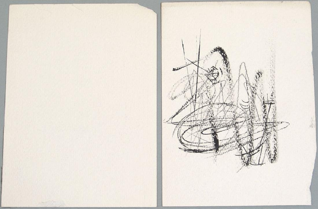 1960s Original Nash Drawings - Modernist Abstract - 2