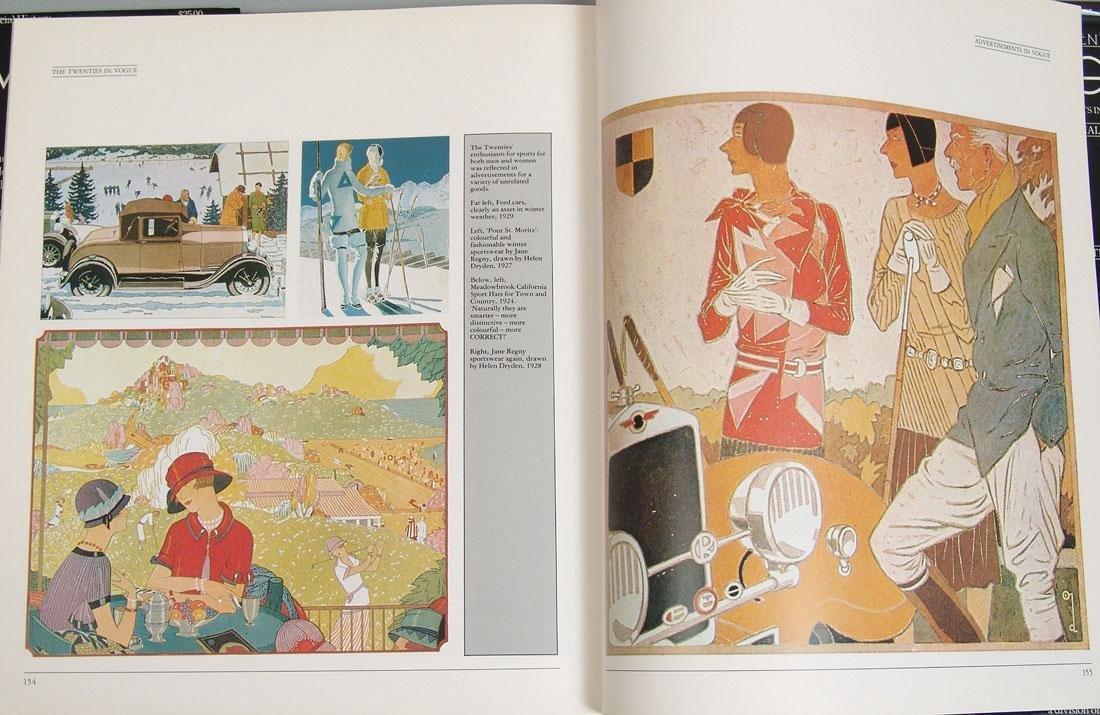 "Vintage 1983 Book ""The Twenties in Vogue"" - 2"