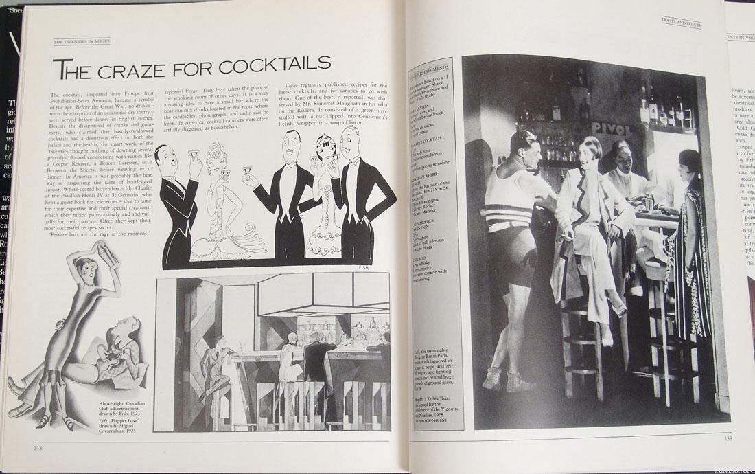 "Vintage 1983 Book ""The Twenties in Vogue"" - 3"