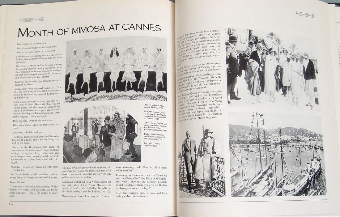 "Vintage 1983 Book ""The Twenties in Vogue"" - 4"