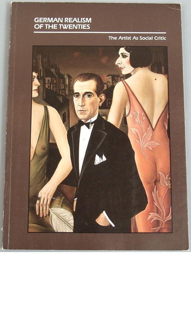"""Vintage 1980 Book """"German Realism of the Twenties"""""""