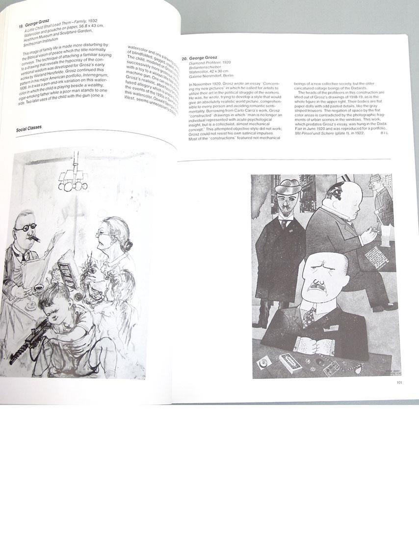 """Vintage 1980 Book """"German Realism of the Twenties"""" - 2"""