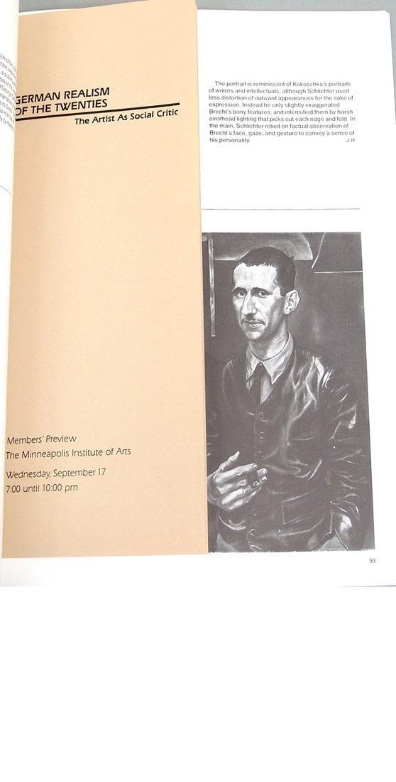"""Vintage 1980 Book """"German Realism of the Twenties"""" - 5"""