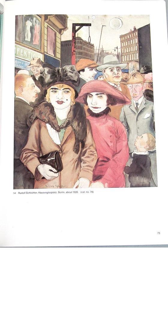 """Vintage 1980 Book """"German Realism of the Twenties"""" - 6"""
